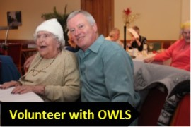 Volunteer with OWLS graphic