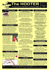 Image of the front page of OWLS newsletter